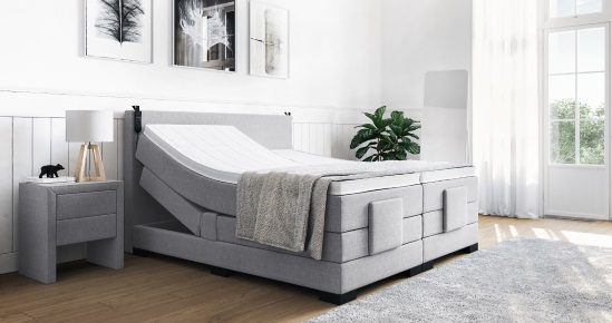 boxspringbetten mit motor unterst tzung. Black Bedroom Furniture Sets. Home Design Ideas