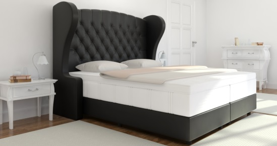 boxspringbett charles online kaufen boxspring welt. Black Bedroom Furniture Sets. Home Design Ideas