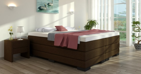 boxspringbett gustav ohne kopfteil boxspring welt. Black Bedroom Furniture Sets. Home Design Ideas