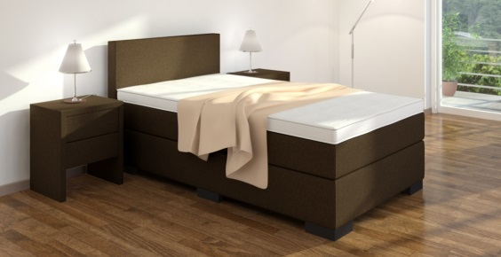 boxspringbett 120x210 cm online kaufen boxspring welt. Black Bedroom Furniture Sets. Home Design Ideas
