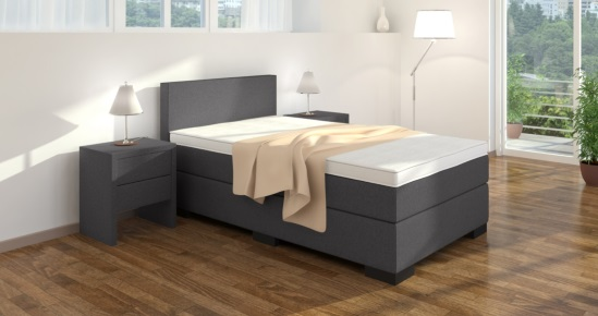boxspringbett einzelbett online kaufen boxspring welt. Black Bedroom Furniture Sets. Home Design Ideas