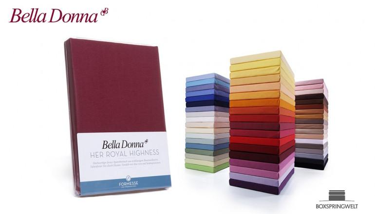 Bella Donna Jersey Spannbettlaken La Piccola Duo 2