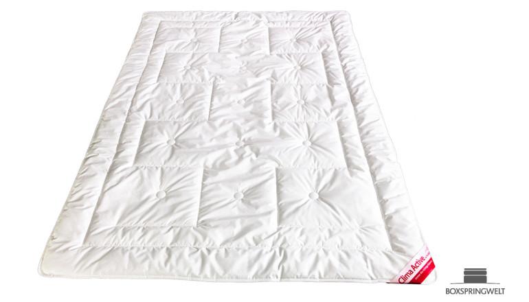 Sommer-Bettdecke Clima Active mit Outlast® und Lyocell, Wärmeklasse 1: Extraleicht
