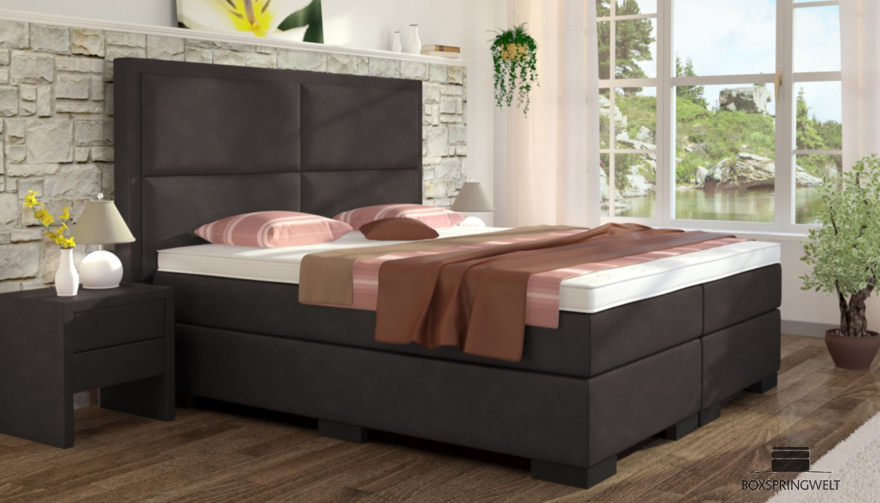 boxspringbett otto 180 x 210 cm boxspring welt. Black Bedroom Furniture Sets. Home Design Ideas