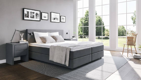 boxspringbett online kaufen boxspring welt schweiz. Black Bedroom Furniture Sets. Home Design Ideas