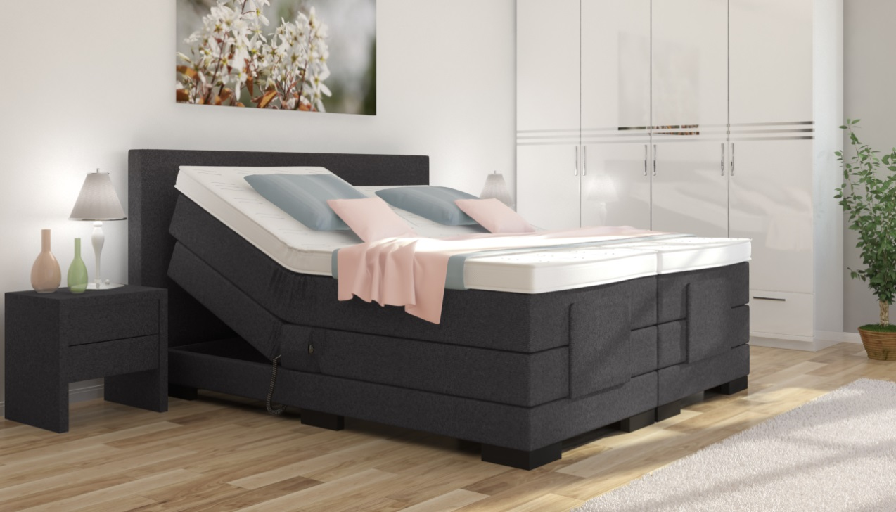 boxspringbett verstellbar. Black Bedroom Furniture Sets. Home Design Ideas